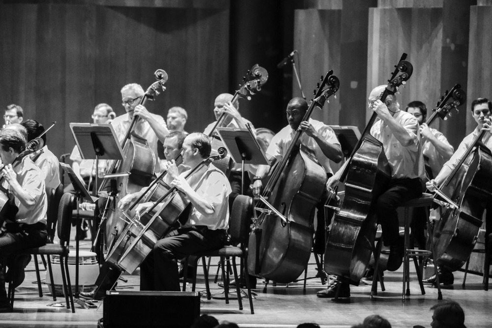 Image of a classical music performance at the Mann Center