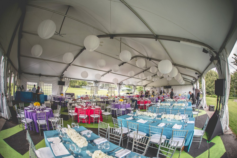 Crescendo tent for Party in the Park