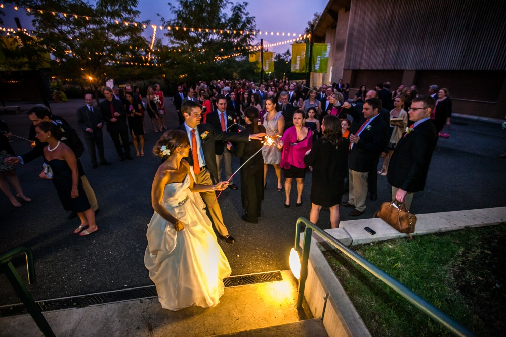 Wedding at the Mann