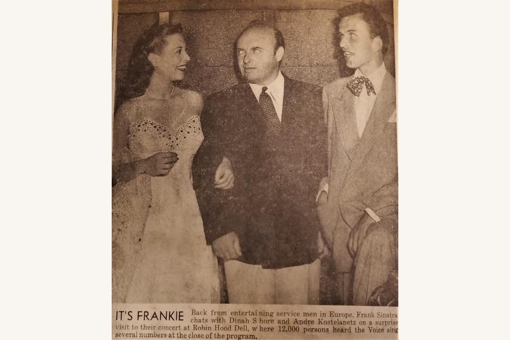 Shore Kostelanetz & Sinatra 1945