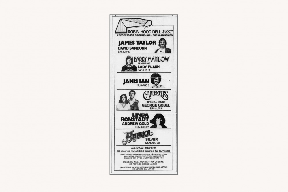 Philadelphia Inquirer ad, 1976