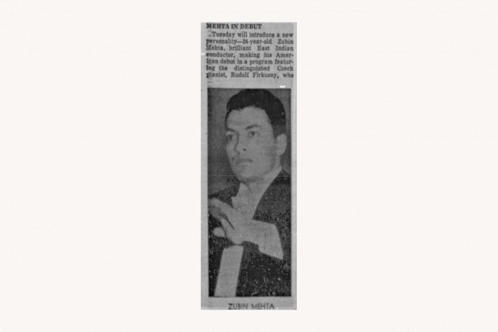 Zubin Mehta Philadelphia Inquirer