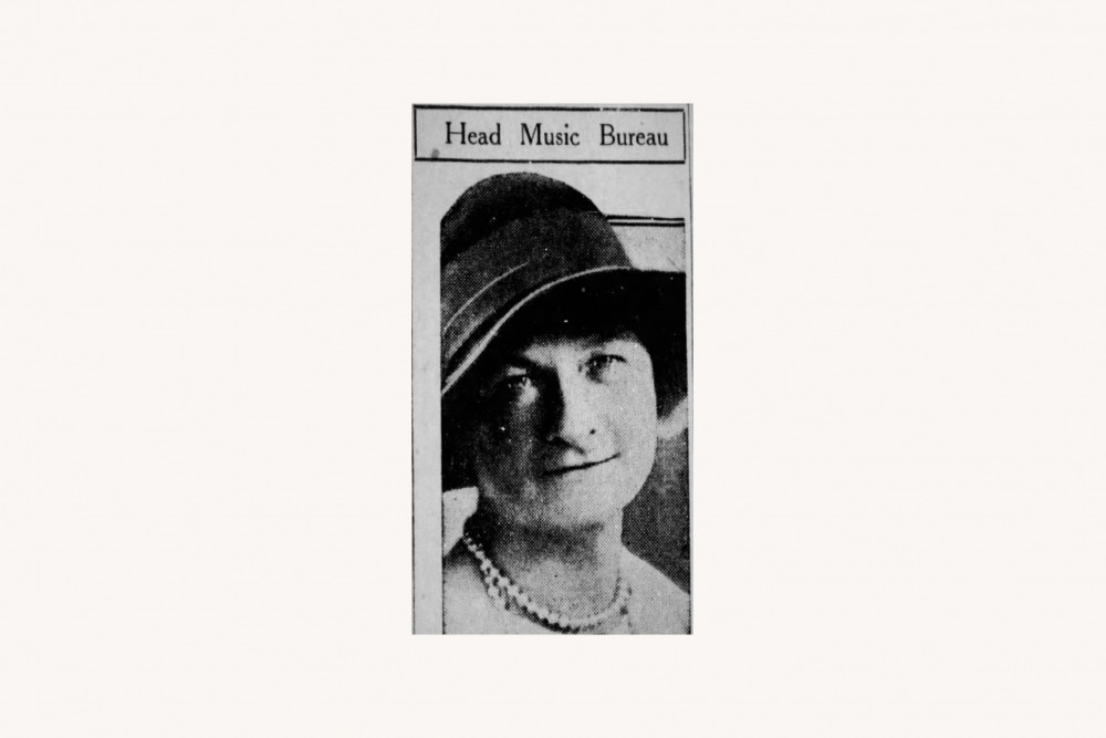 Clara Barnes Abbott, 1928