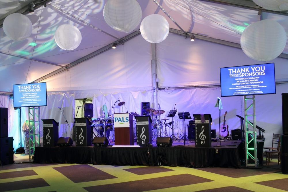 Crescendo Tent Corporate Event