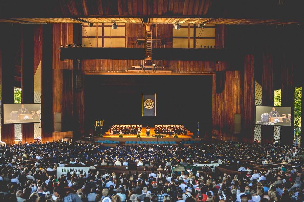 TD Pavilion Graduation