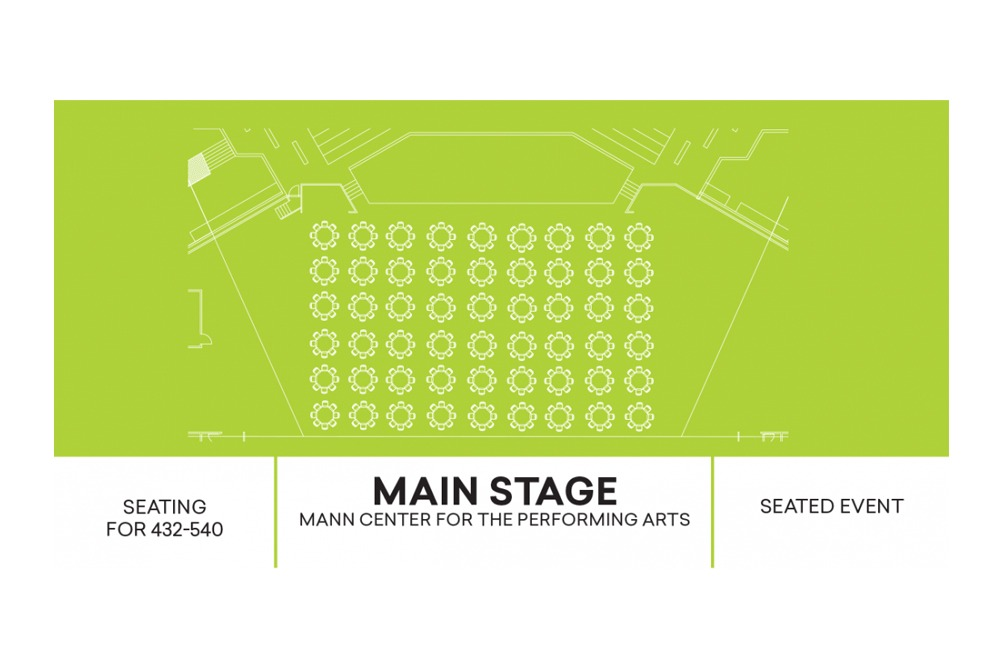 CAD Drawing for Main Stage