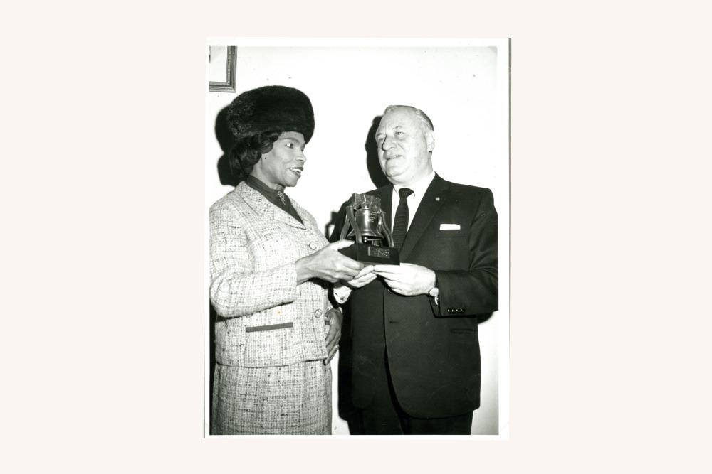 Marian Anderson & Frederic Mann, 1965