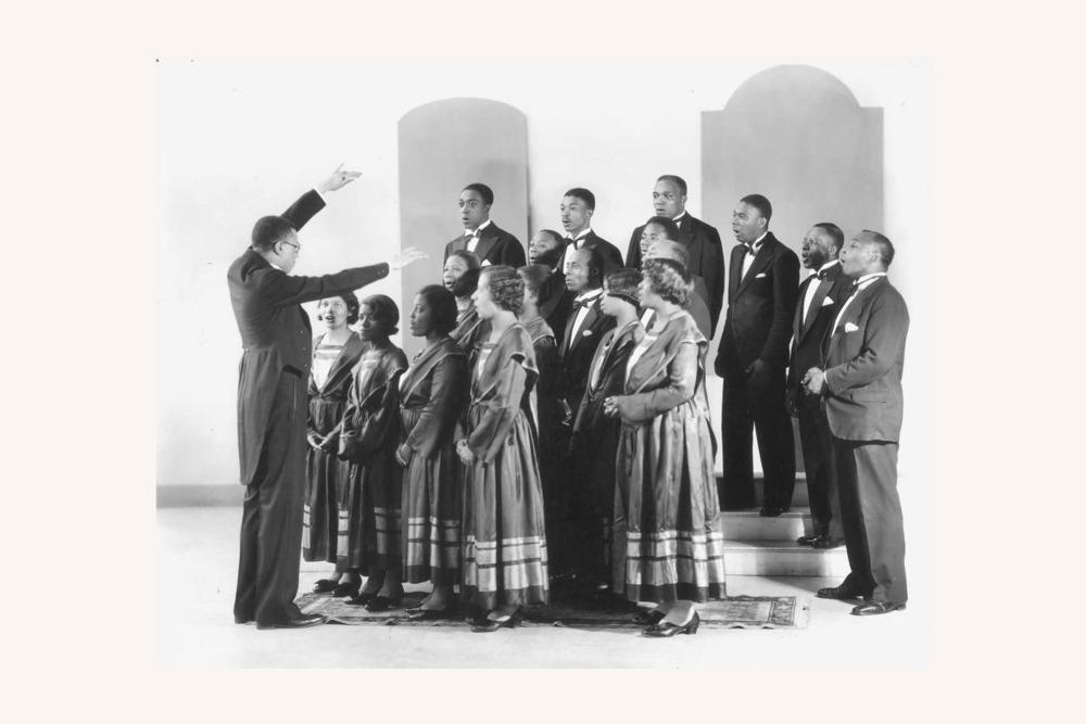 Hall Johnson Choir, 1920
