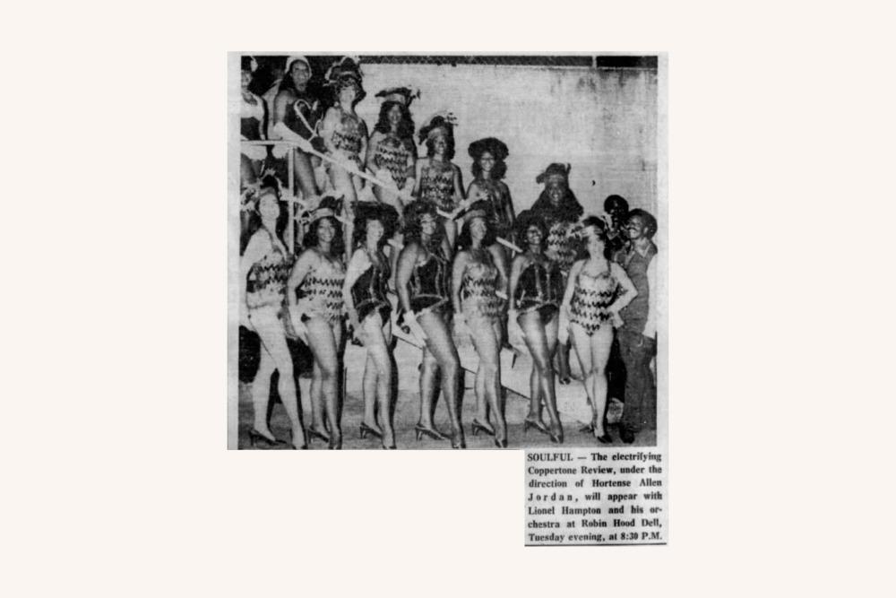 Coppertone Review Dancers