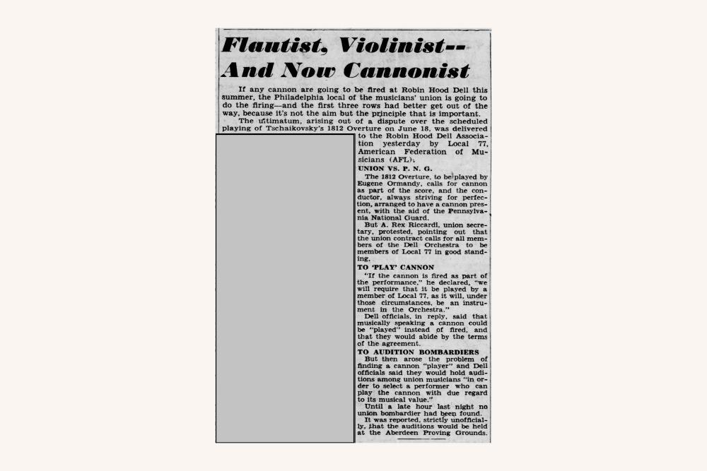 Philadelphia Inquirer Article from May 23, 1940