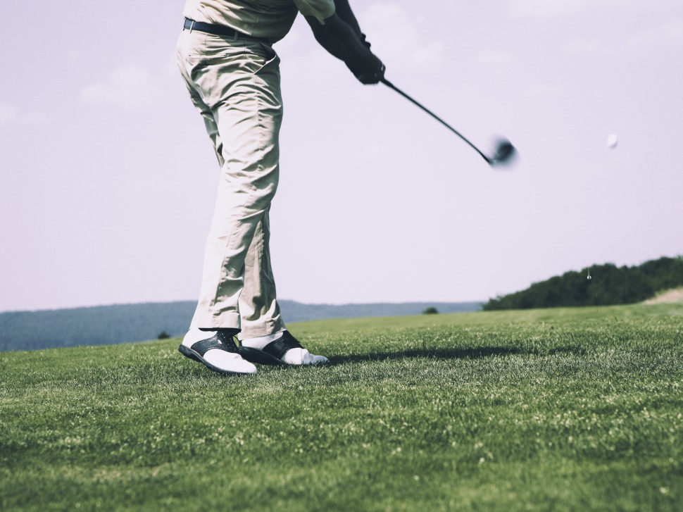golf tournament stock photo