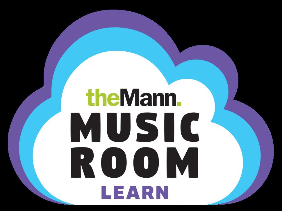 Mann Music Room Learn Logo Header
