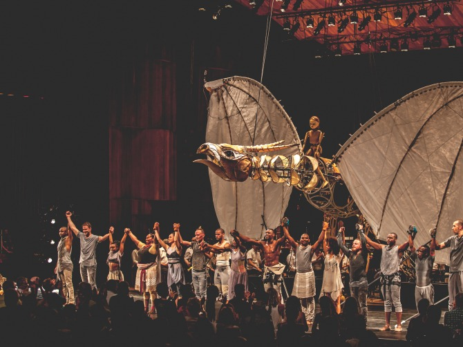 Photo of the Firebird: Spirit Rising performance