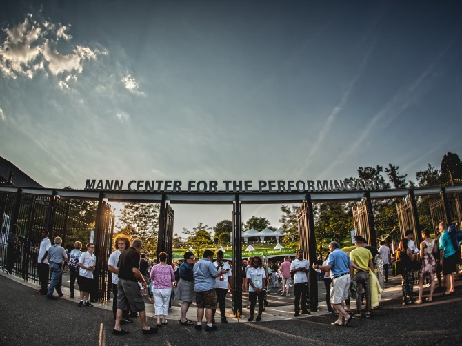 The Mann's Main Gates