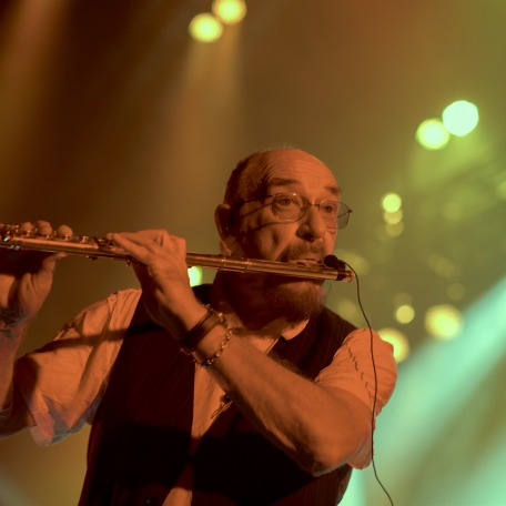 Jethro Tull performing on stage