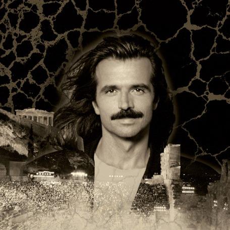 Yanni tour artwork