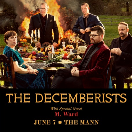 The Decemberists at the Mann