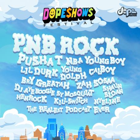 Dope Shows Festival admat