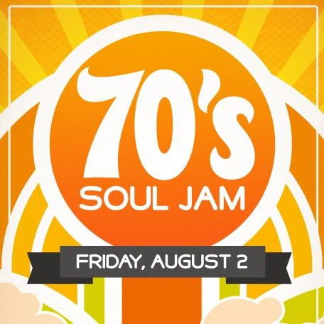 70's Soul Jam Admat