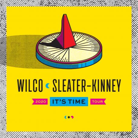 Wilco Sleater-Kinney Admat