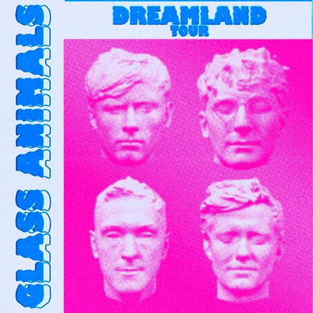 Glass Animals: Dreamland Tour Admat