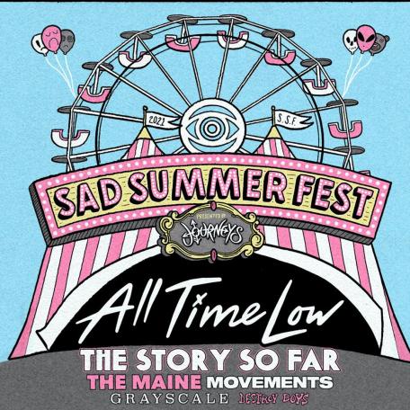 Sad Summer Fest 2021 Admat