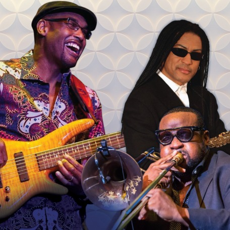Jazz Under The Stars:An Evening with The Gerald Veasley All-Star Bandfeaturing special guests Marion Meadows & Jeff Bradshaw