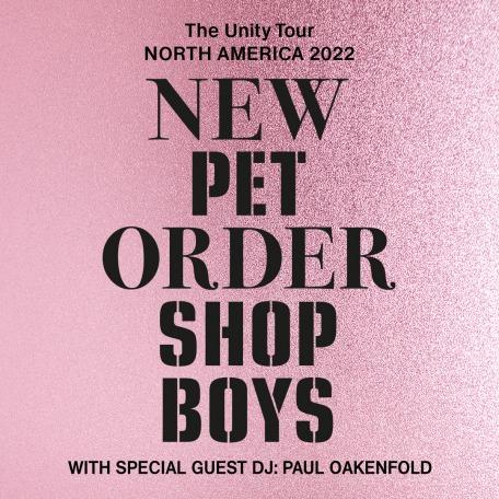 New Order Pet Shop Boys 2022