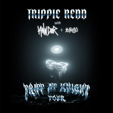 Trippie Redd: Trip at Knight Tour Admat