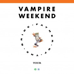 Vampire Weekend Admat
