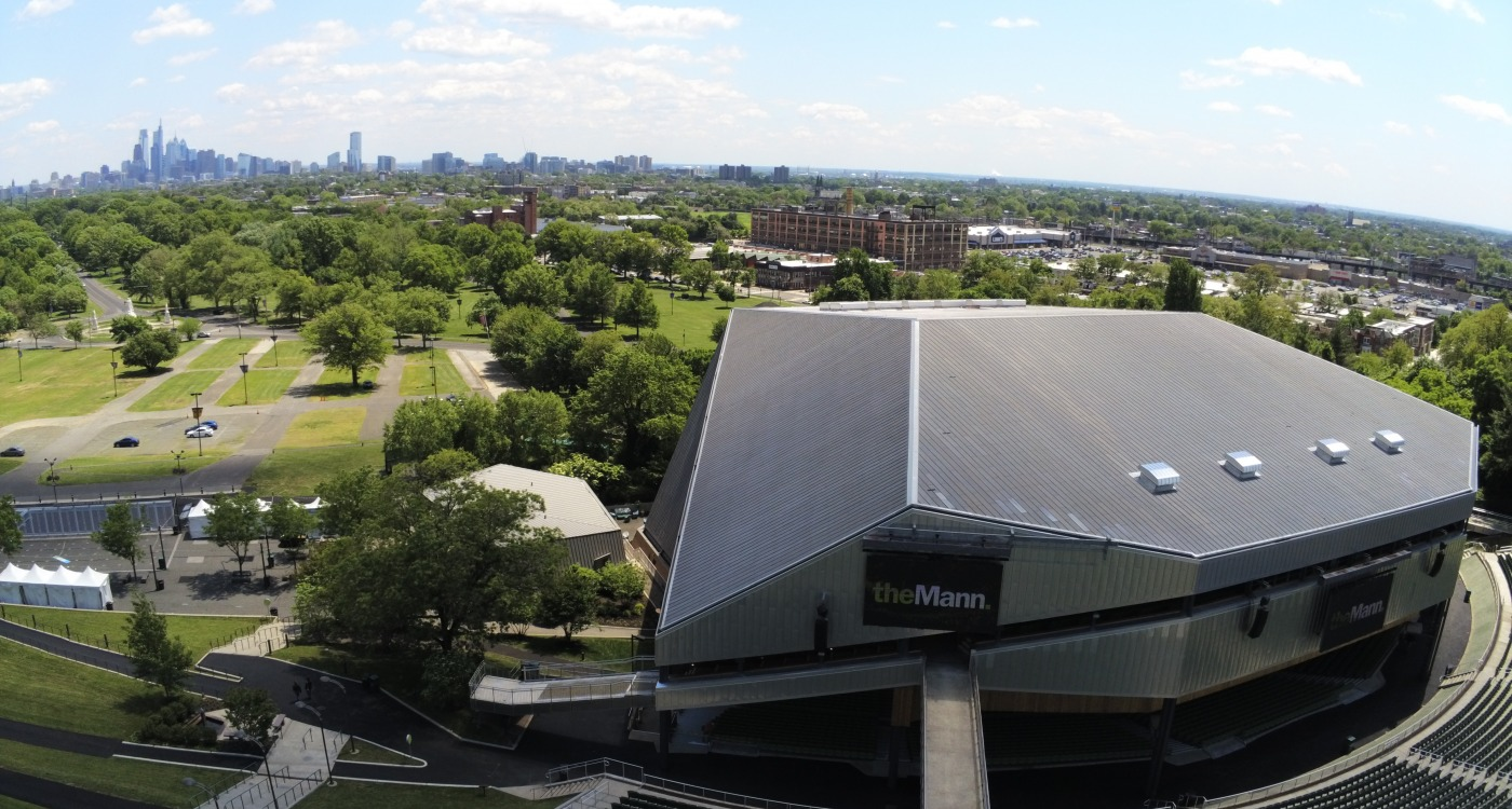 Mann Center Drone Photo