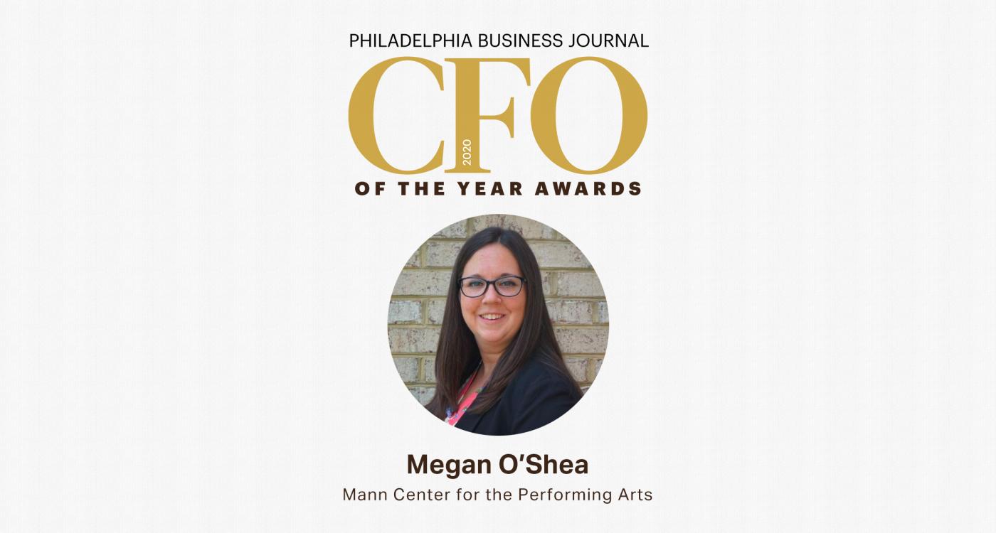 Megan O'Shea honored as Philadelphia Business Journal 2020 CFO Rising Star
