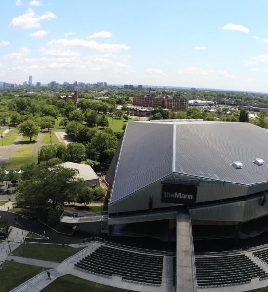 Mann Center Drone Photo