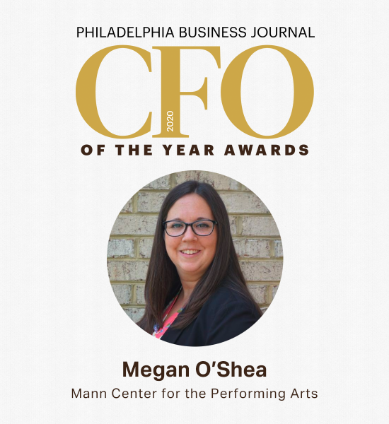 Megan O'Shea honored as Philadelphia Business Journal 2020 CFO Rising Star