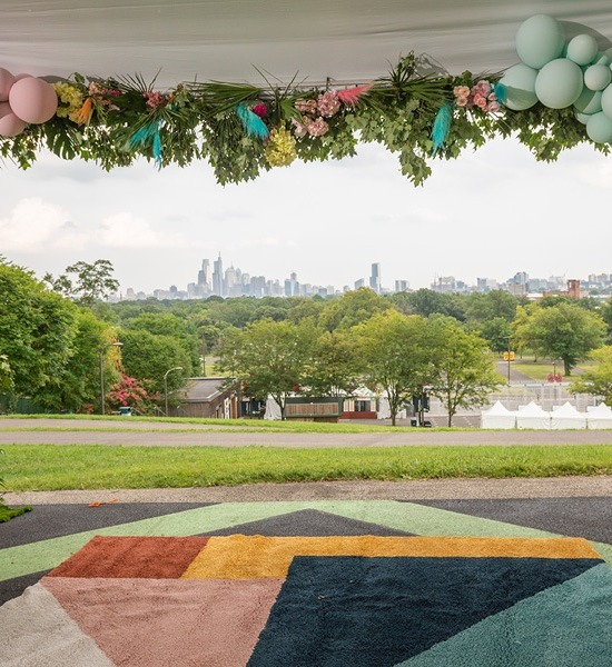 Philadelphia Wedding Magazine at the Mann Center