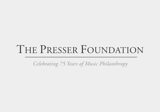 presser foundation logo