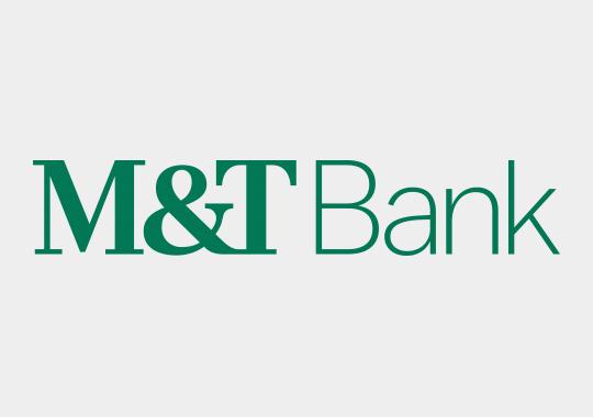 m&t bank logo color