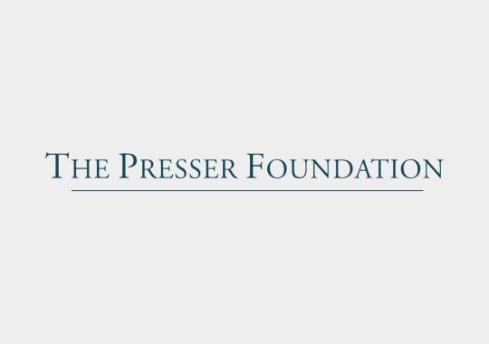 presser foundation logo color
