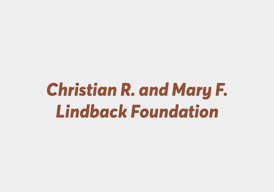 christian r and mary f lindback foundation logo