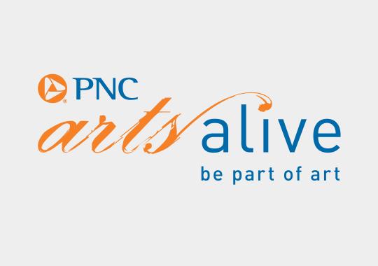 PNC Arts Alive color logo
