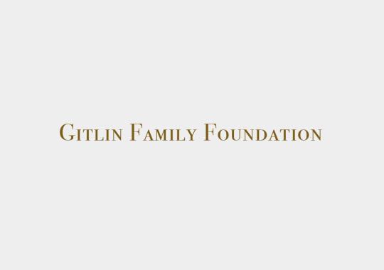 gitlin family foundation color logo