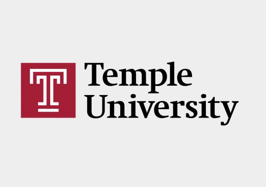 Temple University logo color