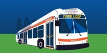The Mann Septa bus