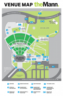 The Mann Venue Map