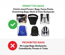 Tyler the Creator Bag Policy